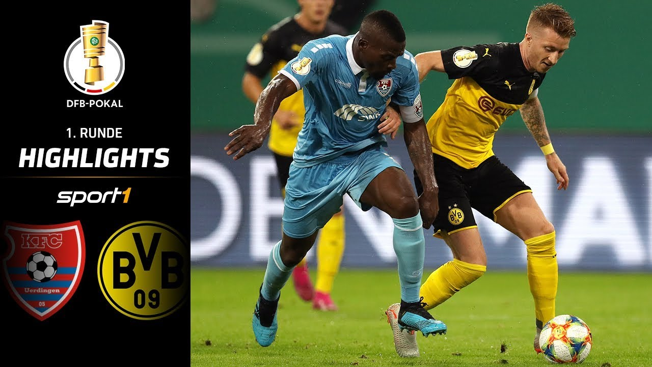 Hand-Dusel und Zauber-Freistoß! Uerdingen - Dortmund 0:2 | Highlights | DFB-Pokal 2019 | SPORT1