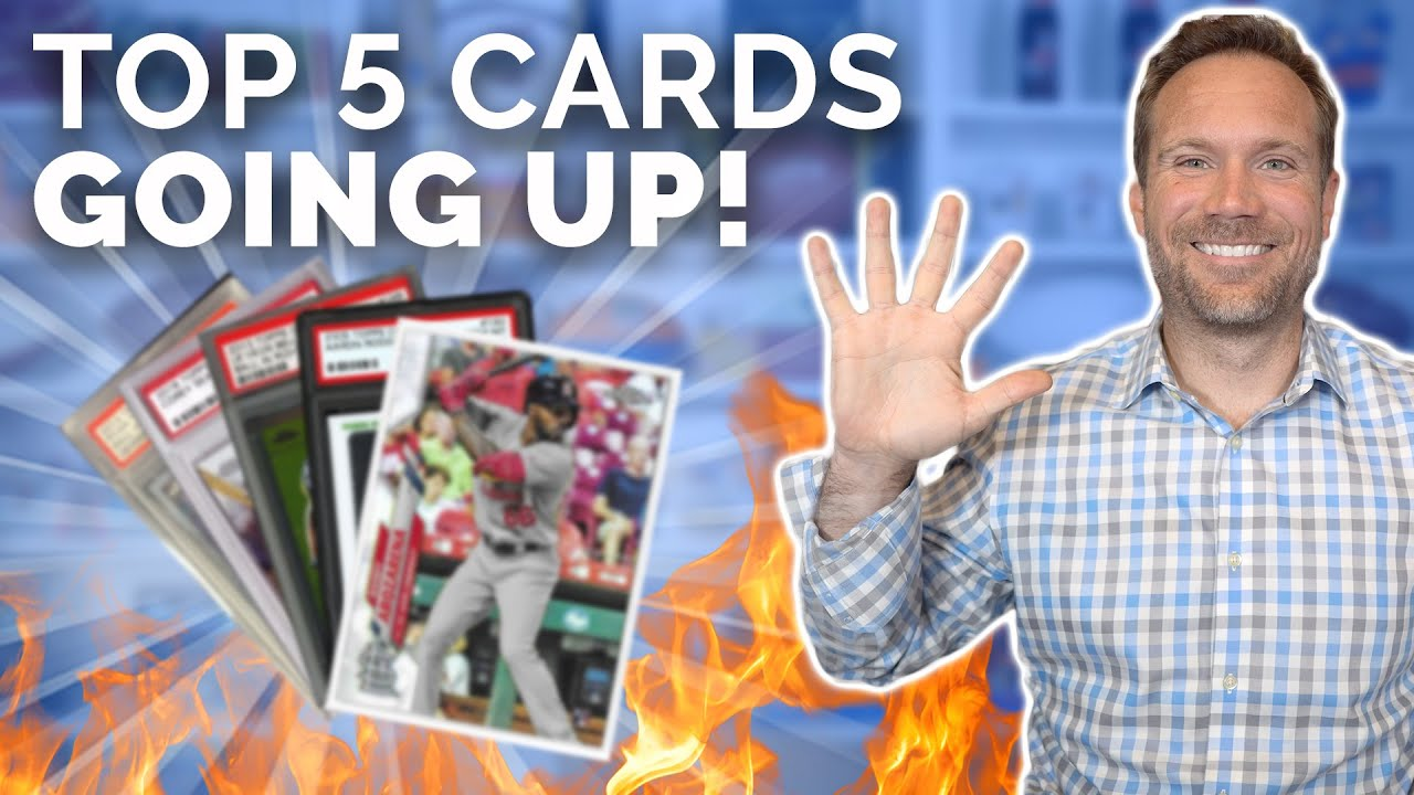 Top 5 Sports Cards Going UP! 🏈⚾️🔥