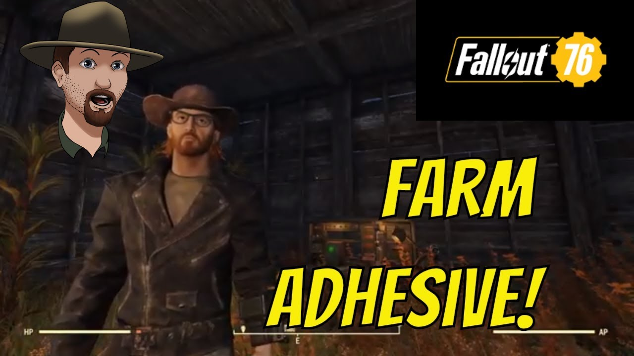 Fallout 76- How to make an Adhesive Farm!