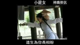 美女圖片 03 金庸武俠小說 神鵰俠侶 小龍女 郭芙 郭襄