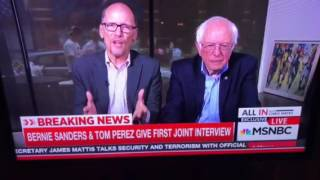 DNC & Tom Perez are not for single payer Medicare for all