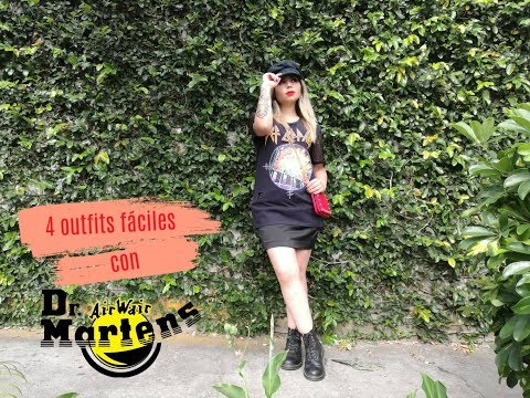 4 outfits fáciles con Dr. Martens/ How to style Dr Martens