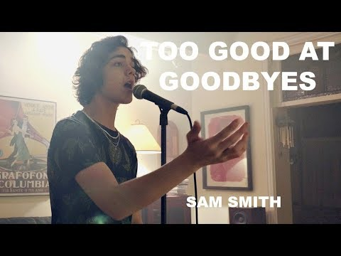 Sam Smith - Too Good At Goodbyes (Cover by Alexander Stewart)