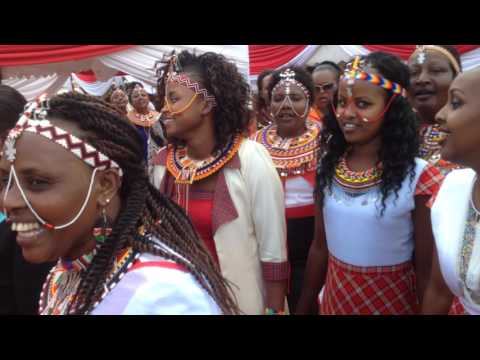 Samburu Lenkupae Traditional African Wedding