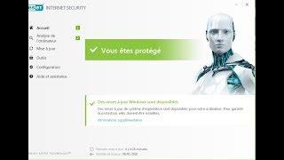 Activer Eset Smart Security gratuitement jusqu'à 2021 ( clés d'activation)