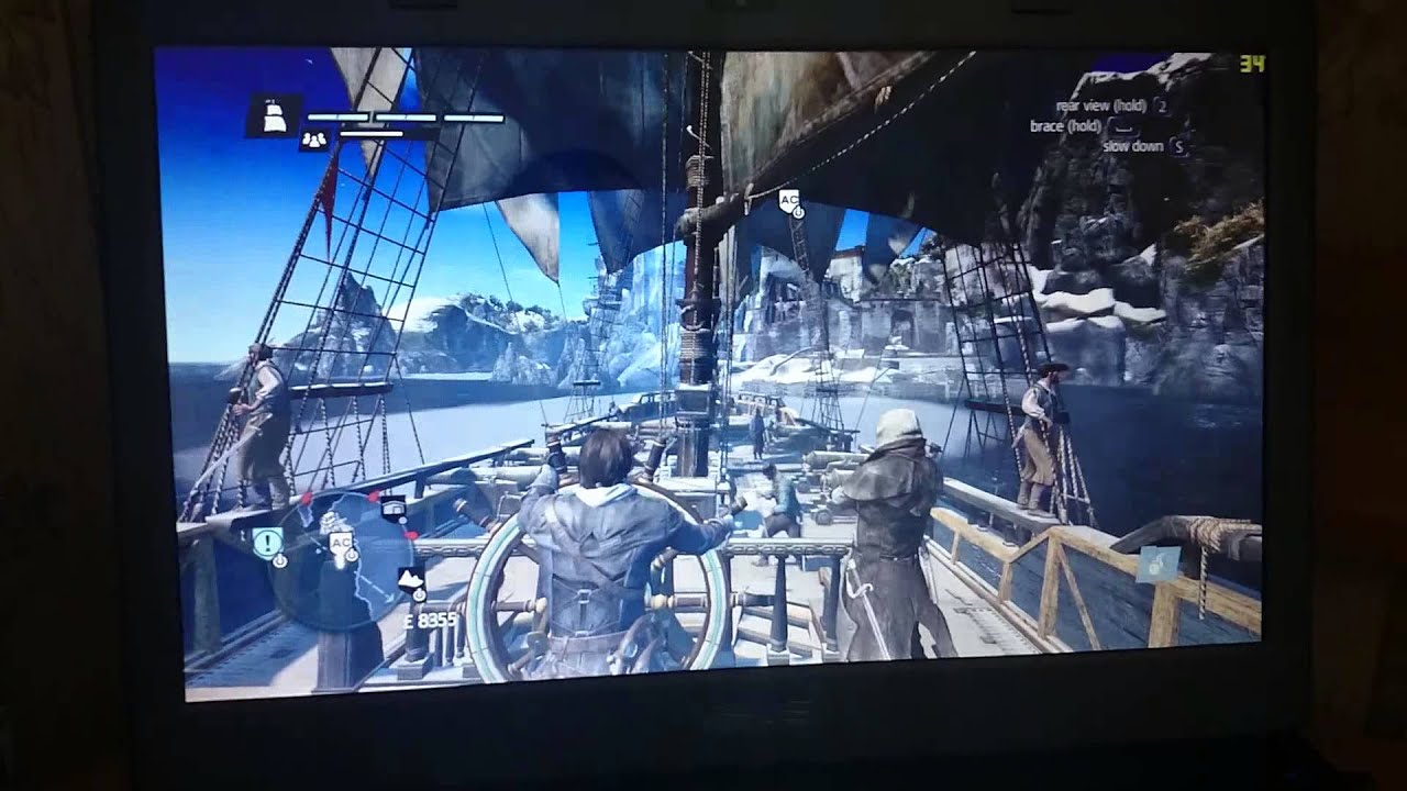 Assassin Creed Rogue On Asus G73jh Youtube