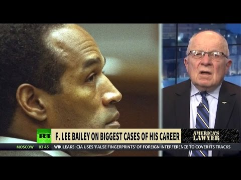 America's Lawyer [13]: F. Lee Bailey on Media Circus & Big Pharma's Corporate Collusion