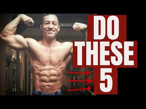 5 At Home Exercise To Build Muscle Without Equipment (Full Body!!)