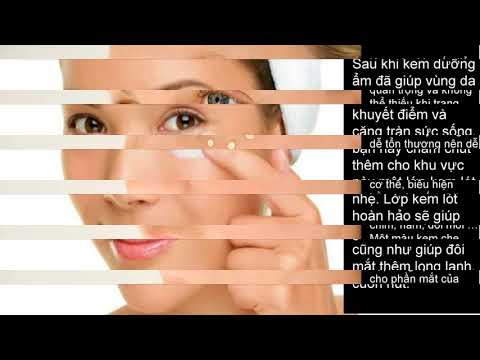 Bí quyết trang điểm xóa nếp nhăn vùng mắt hiệu quả