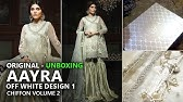 121d94ce4a Aayra Luxury Collection 2018 - Unboxing D1 Off White - Pakistani Branded  Clothes - Duration: 11:58. Sara Clothes 2,650 views · 11:58