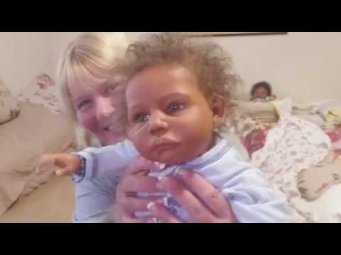 Chat With Me & See Reborn Baby Gaby Gail By Claire Taylor A Kymberlee's Cocoon Baby!