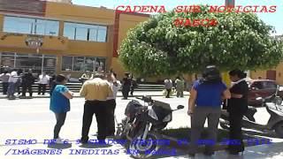 SISMO EN NASCA 6.9 GRADOS