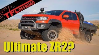 The New Ultimate Off-Road Chevy is the Colorado ZR2 Bison Tray Bed from AEV - First Look