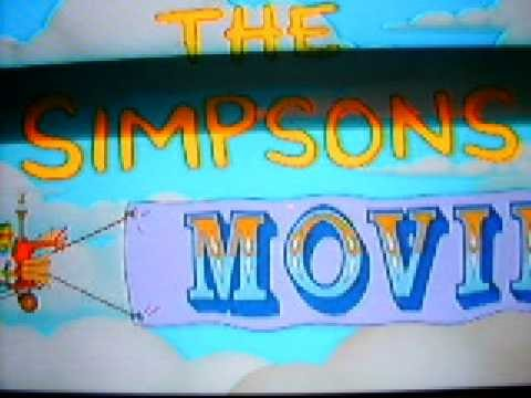 the simpsons movie special features intro youtube