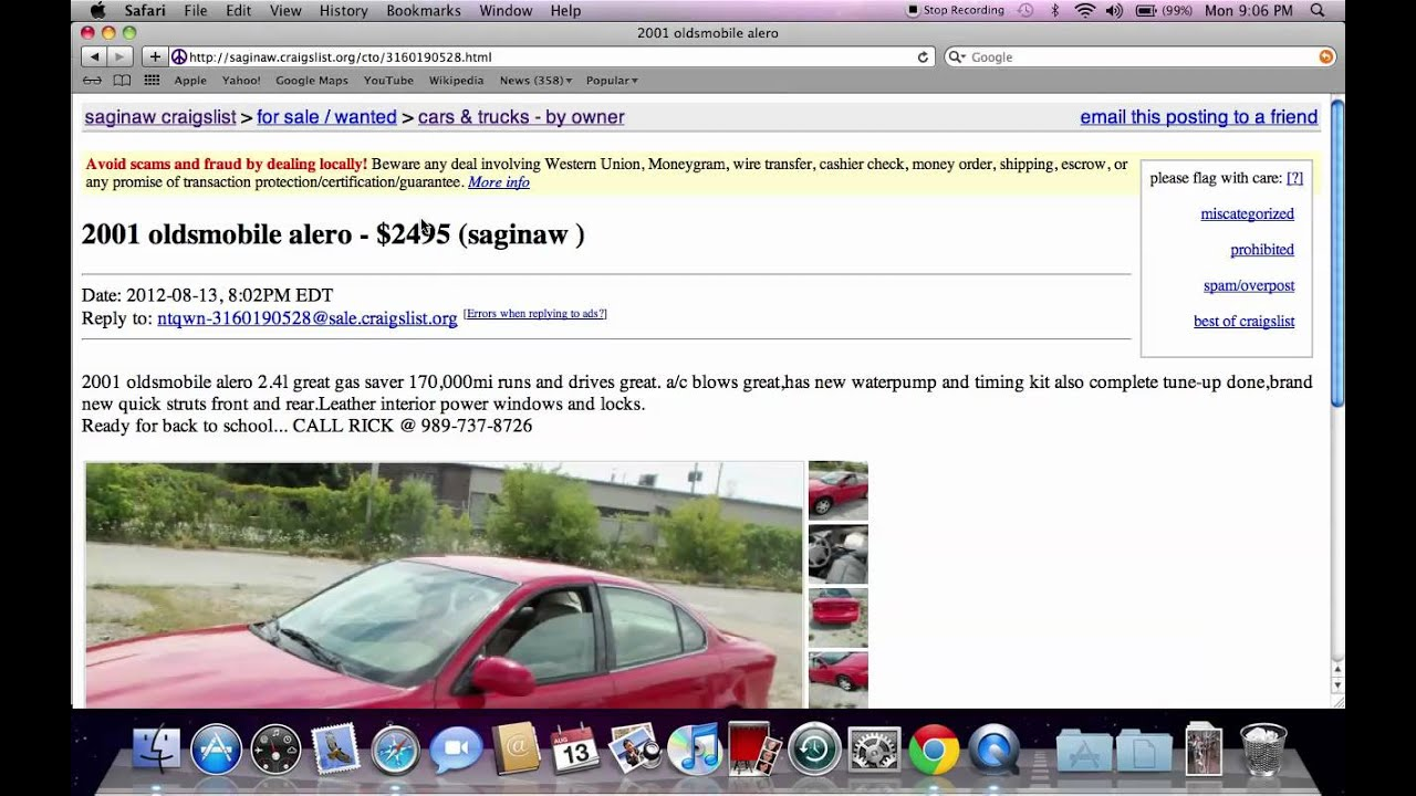 Craigslist midland michigan used cars for sale by owner options save buyers cash youtube