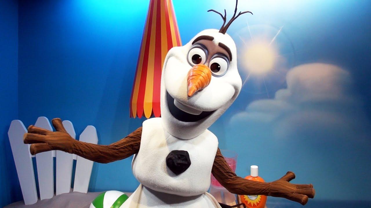 disney frozen character meet and greet