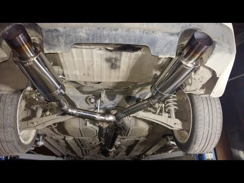 Изготовление выхлопной системы на mitsubishi lancer 10 ralliart www upg avto ru