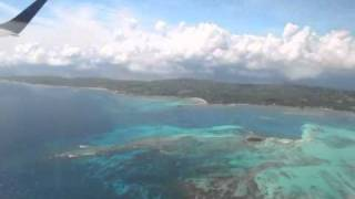 Take of from San Andrés (Gustavo Rojas Pinilla airport)