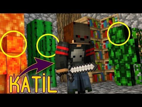 SİHİRLİ ODUN OLDUM !!! MİNECRAFT KATİL KİM #11 - Видео из Майнкрафт (Minecraft)