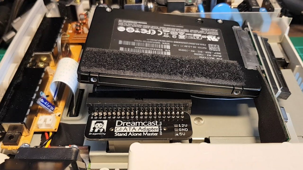 Dreamcast GD-IDE and ATA-G1 boards by DragonCity   ASSEMbler