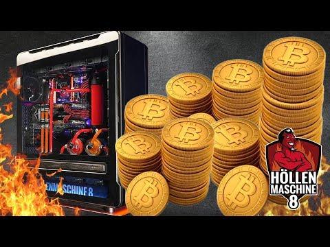 Werden wir REICH? Krypto-MINING mit der Höllenmaschine 8! | #Ethereum #Bitcoin