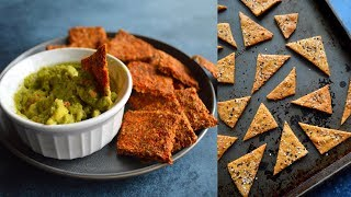 4 Vegan Gluten Free Cracker Recipes