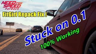 Need For Speed Fitgirl Repack Fix Stuck on 0.1 Working 100%
