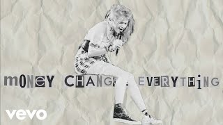 Cyndi Lauper - Money Changes Everything (Lyric Video)