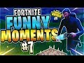 METEORS TRYING TO SABOTAGE?!? Fortnite Funny Moments #7 (Fortnite Battle Royale)
