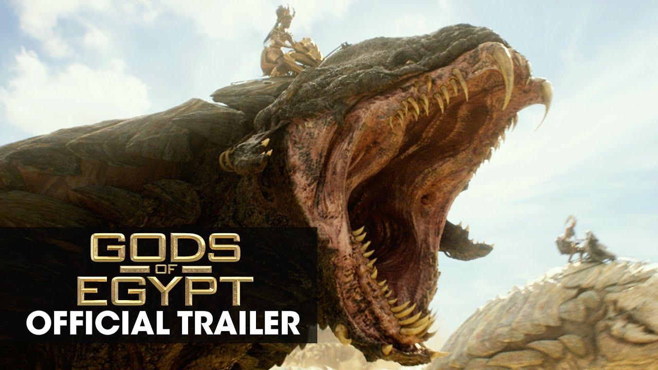 "Download Gods of Egypt (2016 Movie - Gerard Butler) Official Trailer – ""Battle For Mankind"""