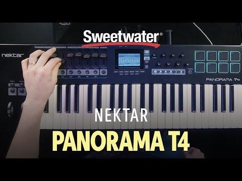 Nektar Panorama T4 Keyboard Controller Demo