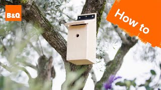 How to build a bird box