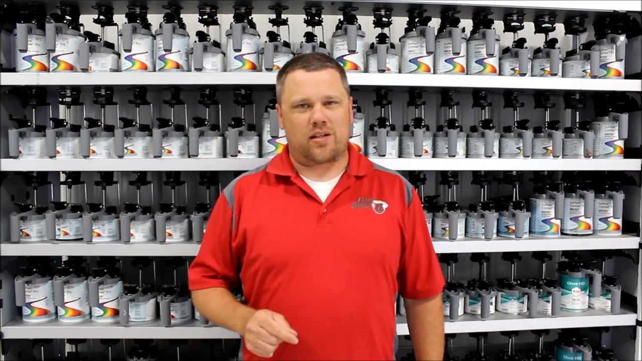 Fargo Bumper Automotive Paint Mixing Training Center Youtube