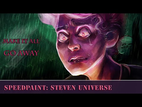 Steven Universe Future Speedpaint (Paint Tool SAI) Make It All Go Away #stevenuniverse