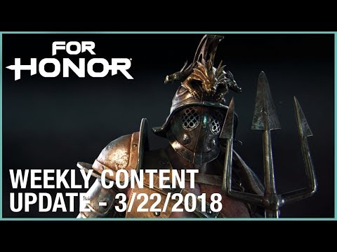 For Honor: Week 3/22/2018 | Weekly Content Update | Ubisoft [US]
