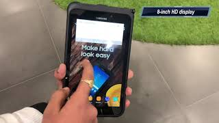Samsung Galaxy Tab Active 2: First Look | Hands on | Price | [Hindi हिन्दी]