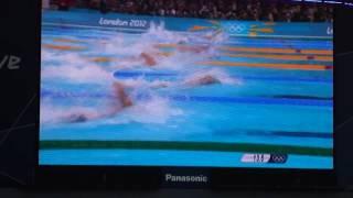Natación juegos olímpicos Londres 2012: 100m libres