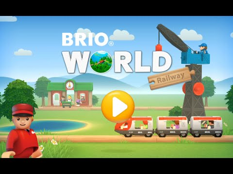 BRIO World Railway Educational Education Android İos Free Game GAMEPLAY VİDEO