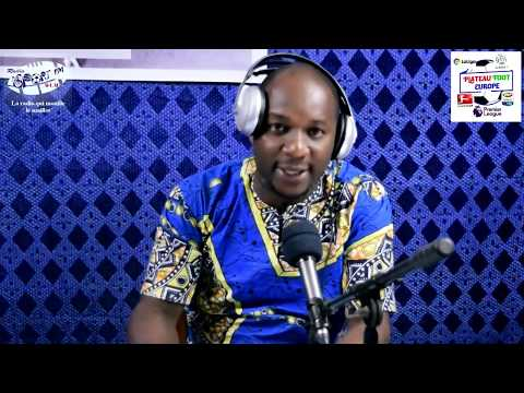 SPORTFM TV - PLATEAU FOOT EUROPE DU 22 MARS 2019 PRESENTE PAR ANGELO FOLLYKOE