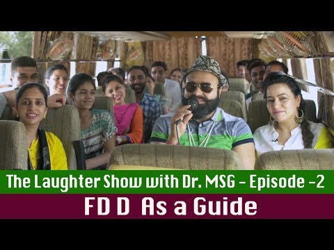 The Laughter Show with Dr MSG - Episode 2   Saint Dr MSG Insan   Honeypreet Insan