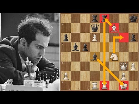 """In Soviet Russia, Bishop Takes Pawn"" - A Classic Tal Game"