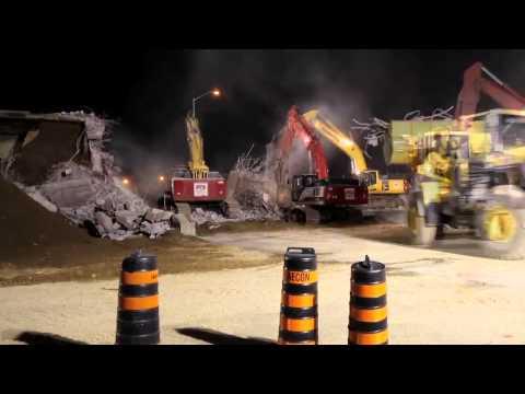 PDI Cambridge, ON Bridge Demolition - Hwy 401/Fountain Rd.