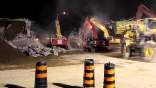 PDI Cambridge, ON Bridge Demolition - Hwy 401/Fountain Rd.