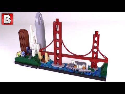 LEGO San Francisco Skyline Review