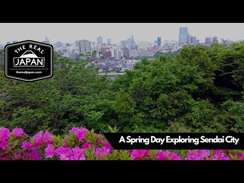 A Spring Day Exploring Sendai City, Miyagi Prefecture | The Real Japan | HD