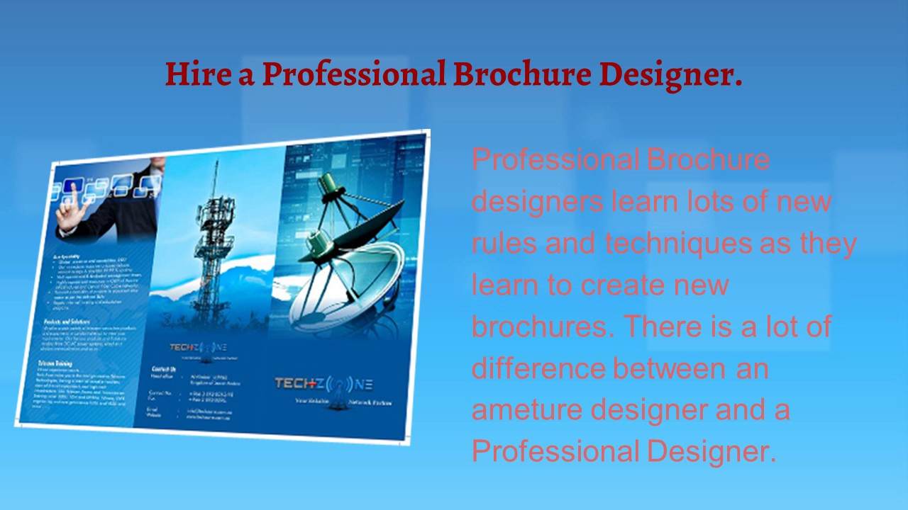 brochure design creation tips for small business youtube