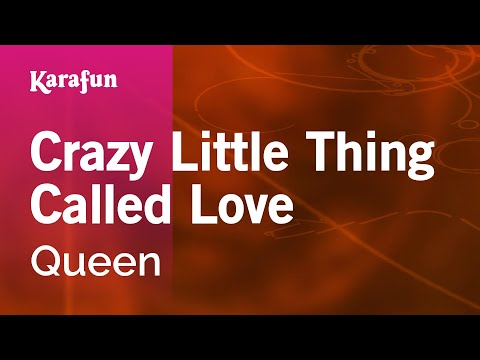 Karaoke Crazy Little Thing Called Love  Queen *