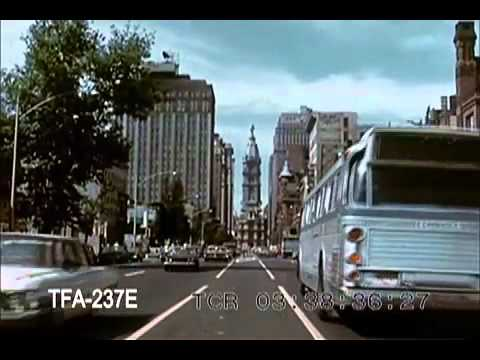 Routes of American Airlines - Philadelphia (1960s)