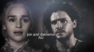 Jon & Daenerys // If you leave (AU)