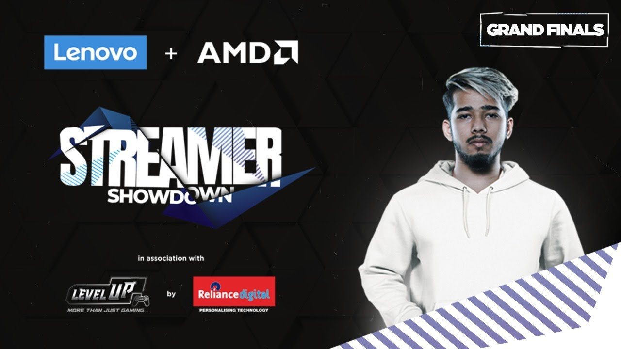 Lenovo + AMD | Apex Legends Streamer Showdown | GRAND FINALS - SCOUT IS LIVE